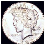 1926-D Silver Peace Dollar CLOSELY UNCIRCULATED