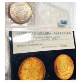 1897 Morgan Silver Dollar AGA - MS64
