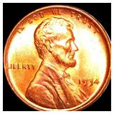 1934 Lincoln Wheat Penny UNCIRCULATED
