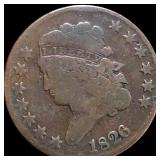 1826 Coronet Head Large Cent NICELY CIRCULATED