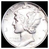 1941-D Mercury Silver Dime UNCIRCULATED