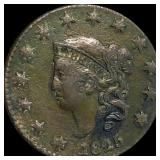 1825 Coronet Head Large Cent LIGHTLY CIRCULATED