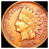 1899 Indian Head Penny CLOSELY UNCIRCULATED