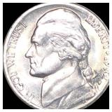 1982-P Jefferson Nickel NEARLY UNCIRCULATED