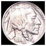 1936-D Buffalo Head Nickel LIGHTLY CIRCULATED