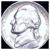 1940-D Jefferson Nickel FULL STEPS UNC