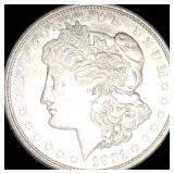 1921-D Morgan Silver Dollar NEARLY UNCIRCULATED