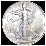 1943 Walking Half Dollar LIGHTLY CIRCULATED