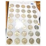 U.S. Half Dollars Franklin Series Coin Set