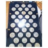 1948-1963 U.S. Half Dollars Franklin Series Set