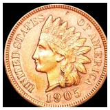 1905 Indian Head Penny CLOSELY UNCIRCULATED