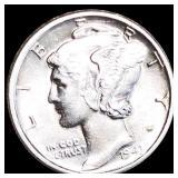 1943-D Mercury Silver Dime UNCIRCULATED