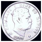1883 Kingdom of Hawaii Dime NICELY CIRCULATED