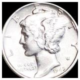 1945 Mercury Silver Dime UNCIRCULATED