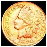 1895 Indian Head Penny LIGHTLY CIRCULATED