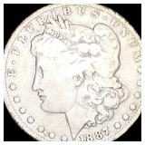 1887-O Morgan Silver Dollar NICELY CIRCULATED