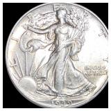 1939 Walking Half Dollar CLOSELY UNCIRCULATED
