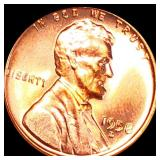 1958-D Lincoln Wheat Penny UNCIRCULATED