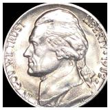 1982-P Jefferson Nickel CLOSELY UNC