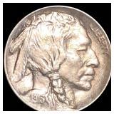 1913 Type 1 Buffalo Head Nickel XF