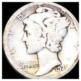1921-D Mercury Silver Dime NICELY CIRCULATED