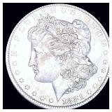 1881-O Morgan Silver Dollar NEARLY UNCIRCULATED