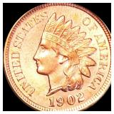 1902 Indian Head Penny UNCIRCULATED