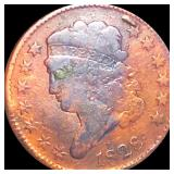 1828 Classic Head Half Cent NICELY CIRCULATED