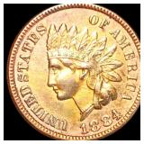 1884 Indian Head Penny UNCIRCULATED