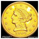 1904 $2.50 Gold Quarter Eagle PROOF?