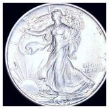 1937 Walking Half Dollar CLOSELY UNC