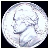 1982-P Jefferson Nickel ABOUT UNCIRCULATED