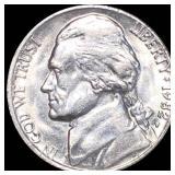 1982-P Jefferson War Nickel UNCIRCULATED