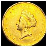 1855 Rare Gold Dollar UNCIRCULATED