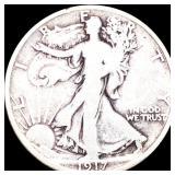 1917-D Walking Half Dollar NICELY CIRC