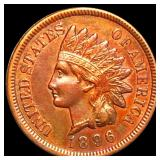1896 Indian Head Penny CLOSELY UNCIRCULATED