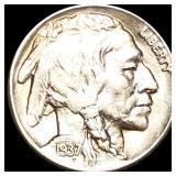 1937-D Buffalo Head Nickel LIGHTLY CIRCULATED