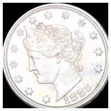1883 Liberty Victory Nickel XF