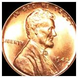 1942-D Lincoln Wheat Penny UNCIRCULATED