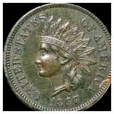 1867 Indian Head Penny UNCIRCULATED