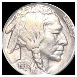1937-S Buffalo Head Nickel LIGHTLY CIRCULATED