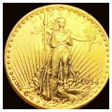 1914-S $20 Gold Double Eagle UNCIRCULATED