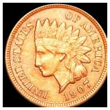 1907 Indian Head Penny CLOSELY UNCIRCULATED
