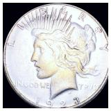 1923-D Silver Peace Dollar LIGHTLY CIRCULATED