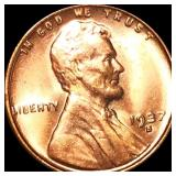 1937-S Lincoln Wheat Penny UNCIRCULATED