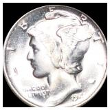1944-S Mercury Silver Dime UNCIRCULATED