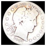 1894-S Barber Half Dollar NICELY CIRCULATED