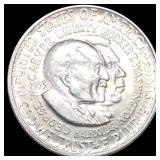 1853-S Washington/Carver Half Dollar UNC