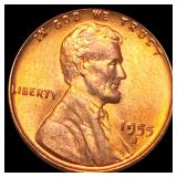 1955-S Lincoln Wheat Penny UNCIRCULATED