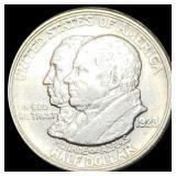 1923-S Monroe Half Dollar CLOSELY UNC